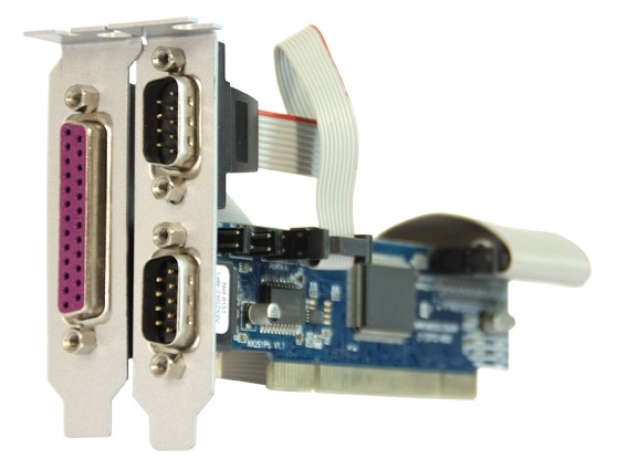 NX 2S 1P PCI – Perfil baixo - (Aleta 08 cm)