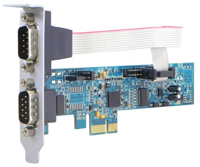 NX 2S PCI-EXP - Perfil baixo - (Aleta 8 cm)