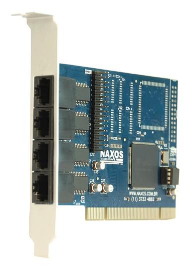 NX 4PCI-RJ – Perfil normal - (Aleta 12 cm)