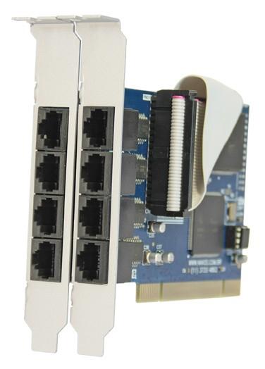 NX 8PCI-RJ – Perfil normal - (Aleta 12 cm)